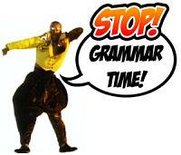 It's Grammar Time!