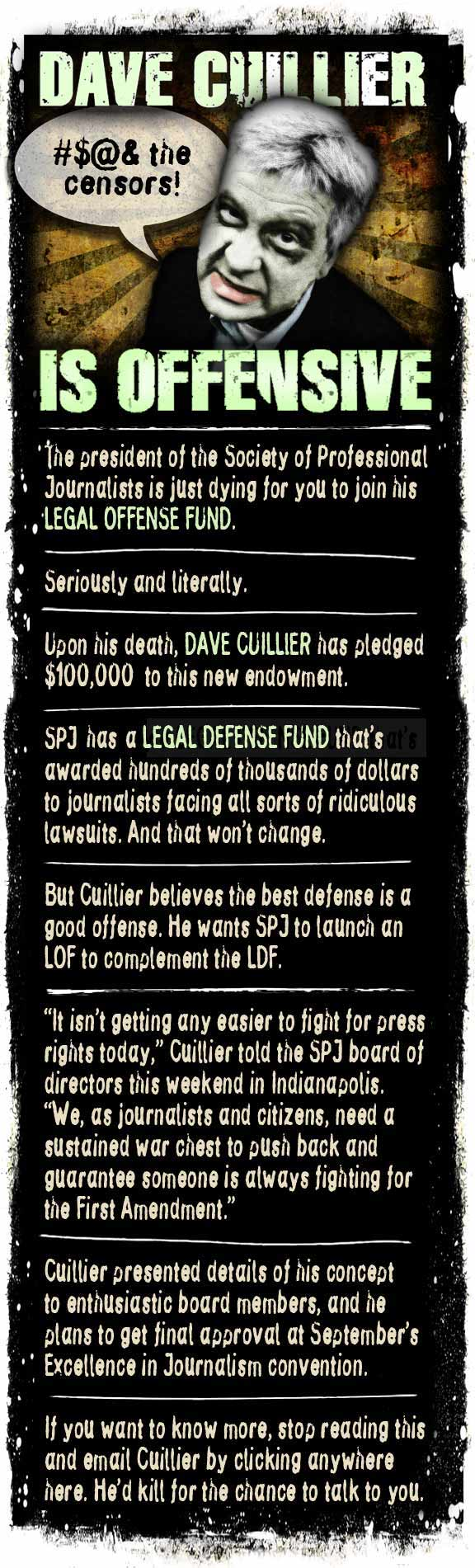 dave cuillier legal offense fund