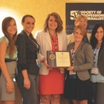 OU's SPJ chapter picked up Campus Chapter of the Year in Nashville.