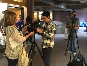 Convergence journalists at JCCC
